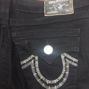 True Religion Vintage Embellished Jeans Never Used